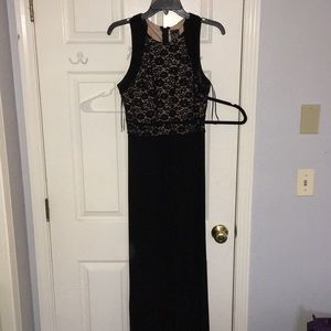 Black nightway dress